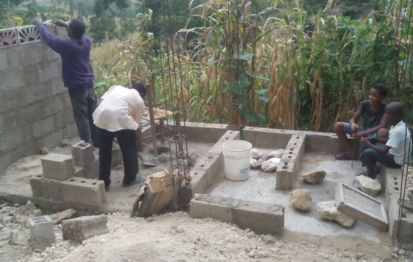 Construction begins for new latrines